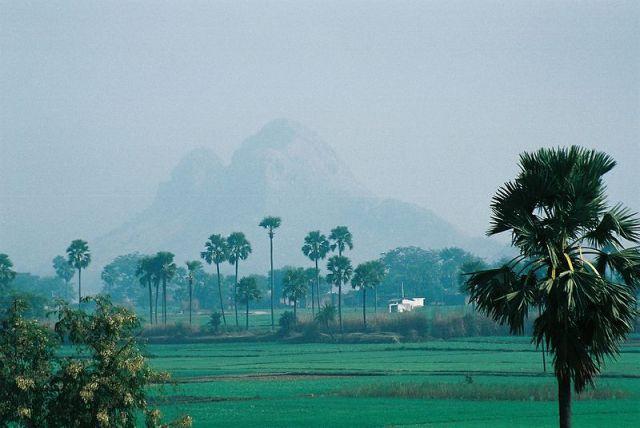 Landschaft in Bihar, Ditis Heimat. Foto: Hideyuki KAMON